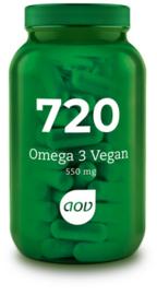 AOV 720 Omega 3 Vegan 60 Capsules