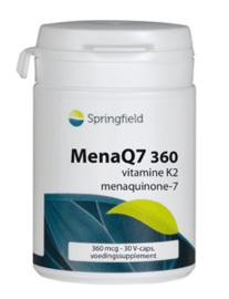 Springfield MenaQ7 360 vitamine K2