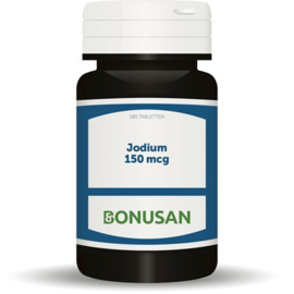 Bonusan Jodium 150 mcg (uit kelp) 180 tabletten (0713)