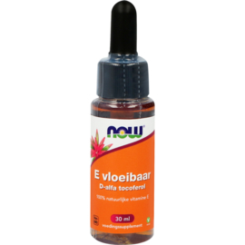 NOW E vloeibaar D-alfa tocoferol 30 ML