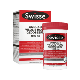 Swisse Ultiplus multiplus Omega-3 Visolie Hoog Gedoseerd