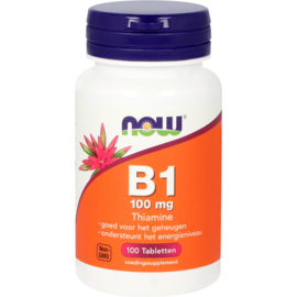 Now vitamine B1 100 mg 100 Tabletten