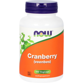 Now Cranberry (Veenbes) 100 vcaps