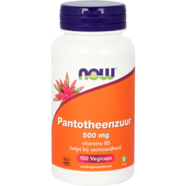 Now Pantotheenzuur 500 mg (B5) 100 vcaps