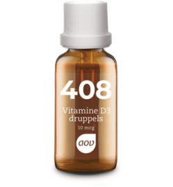 AOV 408 Vitamine D3 druppels (10 mcg) 25 ML
