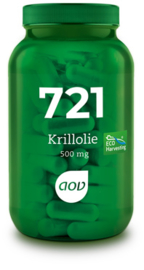 AOV 721 Krillolie (500 mg) 60 capsules