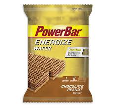 PowerBar Energize Wafer - framboos yoghurt, pinda chocolade