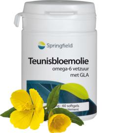 Springfield Teunisbloemolie – omega 6-vetzuren GLA 60/210 softgels