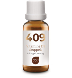 AOV 409 Vitamine D3 druppels (25 mcg) 15 ML