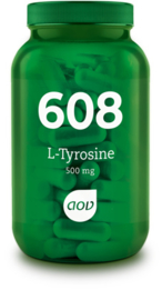 AOV 608 L-Tyrosine (500 mg) 60 Capsules