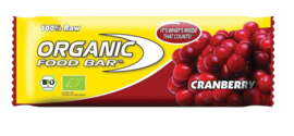 Organic Food Bar Cranberry