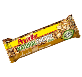 PowerBar Natural Energy Cereals bar - sweet 'n salty, strawberry & cranberry, cacao crunch