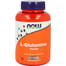NOW L-Glutamine Poeder 170 gram