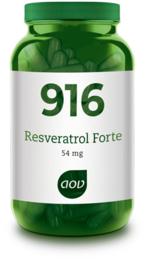 AOV 916 Resveratrol Forte 54 mg 60 capsules