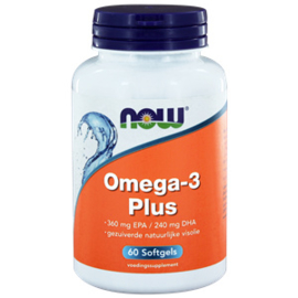 NOW Omega-3 Plus