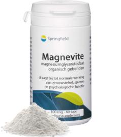 Springfield Magnevite organisch gebonden magnesium 60/150 Tabletten