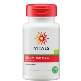 Vitals JODIUM BIOLOGISCH 100 CAPSULES