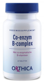 Orthica Co Enzym B complex 60 tabletten