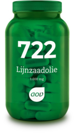 AOV 722 Lijnzaadolie (1.000 mg) 90 Capsules