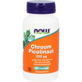 NOW Chroom Picolinaat 200 mcg 100 Capsules