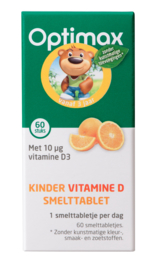 Optimax Kinder vitamine D smelttablet