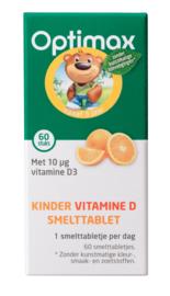 Optimax Kinder vitamine D smelttablet