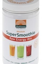 Mattisson Healthcare - Absolute Supersmoothie Energy Mix Bio