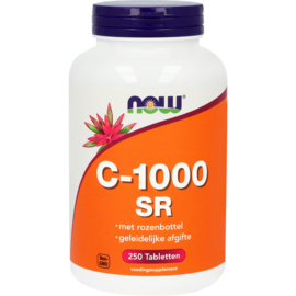 NOW C-1000 Sustained Release met Rozenbottel 250 Tabletten