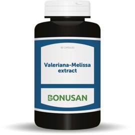 Bonusan Valeriana Melissa extract (1709) 90 capsules