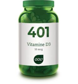 AOV 401 Vitamine D3 10 mcg 60 Capsules