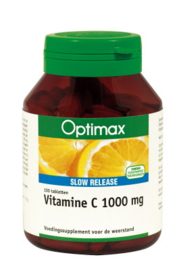 Optimax Vitamine C 1000mg Slow Release