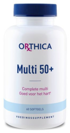 Orthica multi 50 plus 60/120 softgels