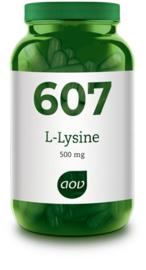 AOV 607 L-Lysine (500 mg) 90 vcaps