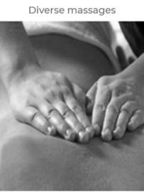 Diverse massagebehandelingen