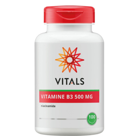 Vitals VITAMINE B3 500 MG 100 CAPSULES