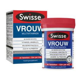 Swisse Ultivite Vrouw Multivitaminen
