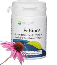 Springfield Echincell biologisch echinacea 60 Softgels