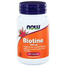 NOW Biotine 1000 µg 100 vcaps