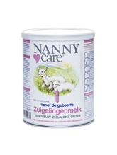 Vitals Nannycare zuigelingenvoeding geitenmelk