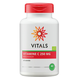Vitals VITAMINE C BIOLOGISCH 60 CAPSULES