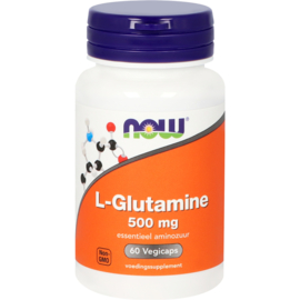 NOW L-Glutamine 500 mg 60 vcaps