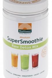 Mattisson Healthcare - Absolute Supersmoothie Detox Bio