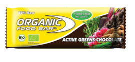 Organic Food Bar Active Greens Chocolate