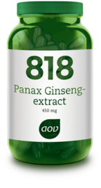 AOV 818 Panax Ginseng-extract (450 mg) 180 vcaps