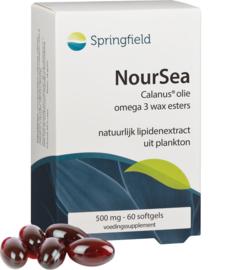 Springfield NourSea Calanus®olie omega 3 wax esters 60/180 softgels