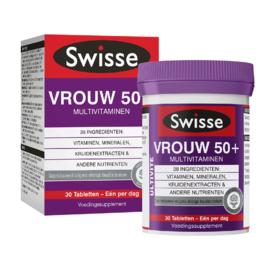 Swisse Ultivite Vrouw 50+ Multivitaminen