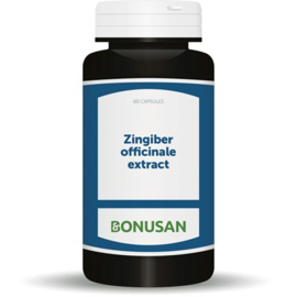 Bonusan Zingiber (1708) 60 capsules