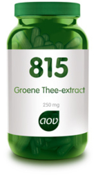 AOV 815 Groene thee-extract Fytotherapeutica