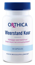 Orthica Weerstand Kuur 30 capsules