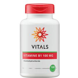 Vitals VITAMINE B1 100 MG 100 CAPSULES